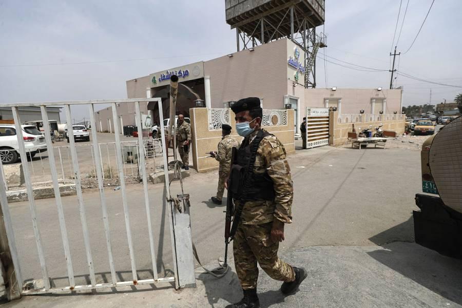 Ministro de Salud en Irak, suspendido por incendio mortal en hospital
