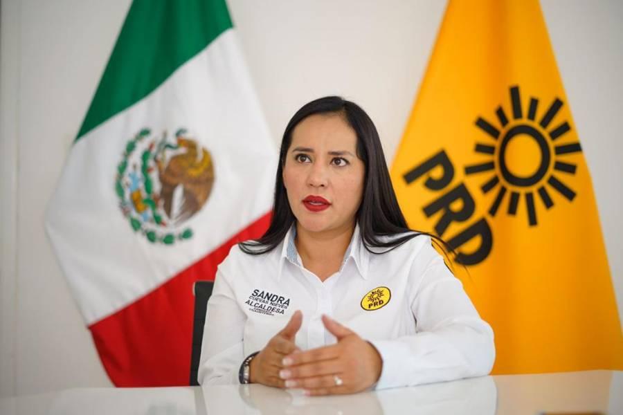 Sandra Cuevas: acabaré con el imperio de corrupción de Dolores Padierna en la Cuauhtémoc
