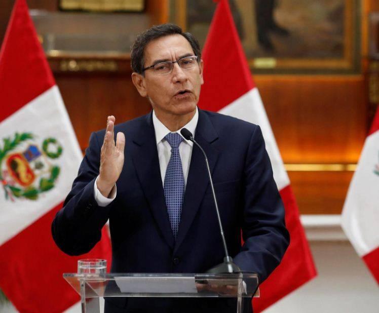 Martín Vizcarra, expresidente de Perú, positivo a Covid