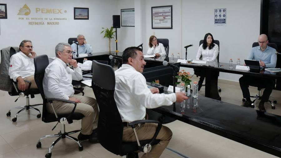 AMLO visita refinería de Ciudad Madero para supervisar resultados de modernización