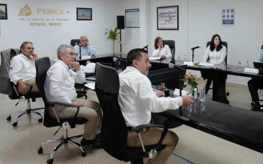 López Obrador: en Madero aseguró ya no se comprará la gasolina