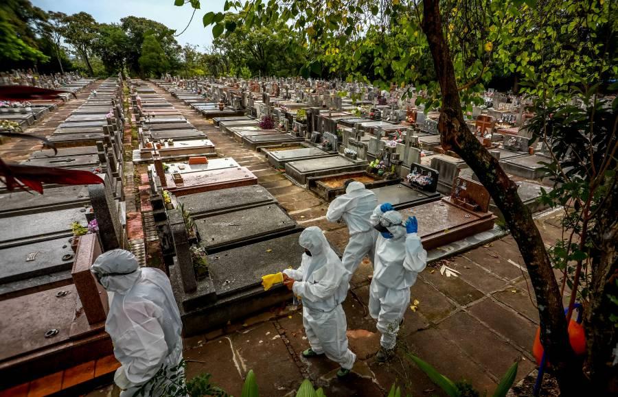 Más de 390 mil fallecidos por Covid-19 en Brasil