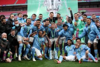 Manchester City gana ante Tottenham la Copa de la Liga, su primer título de la temporada