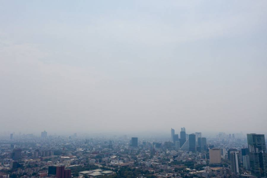 Valle de México: activan medidas por altas concentraciones de ozono en la zona metropolitana