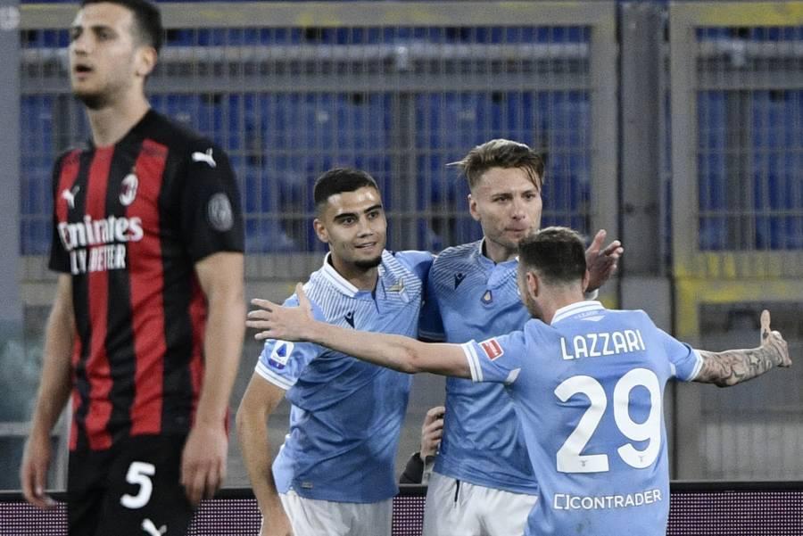 Milan cae ante Lazio y queda fuera de puestos de Champions