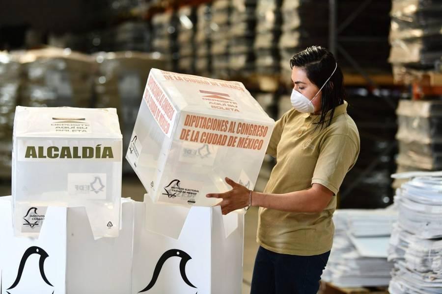 FGJ CDMX investiga robo de documentos electorales del INE