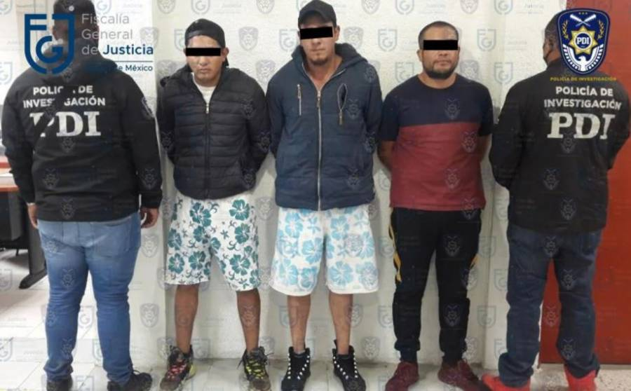 """Caen tres presuntos miembros de """"Los Rodolfos"""" en Milpa Alta"""
