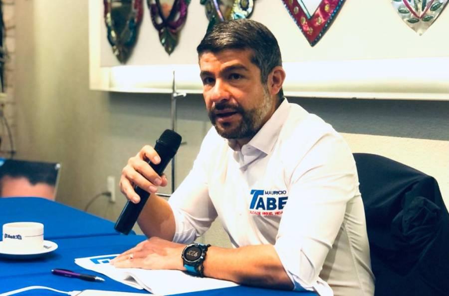 Propone Mauricio Tabe, programa para combatir la inseguridad en Miguel Hidalgo