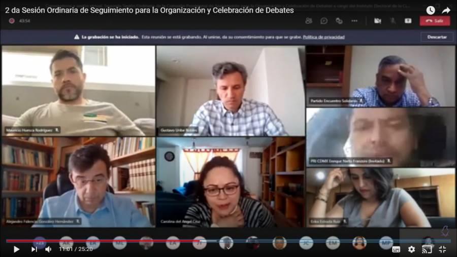 Serían presenciales 50 debates de la Ciudad de México: IECM