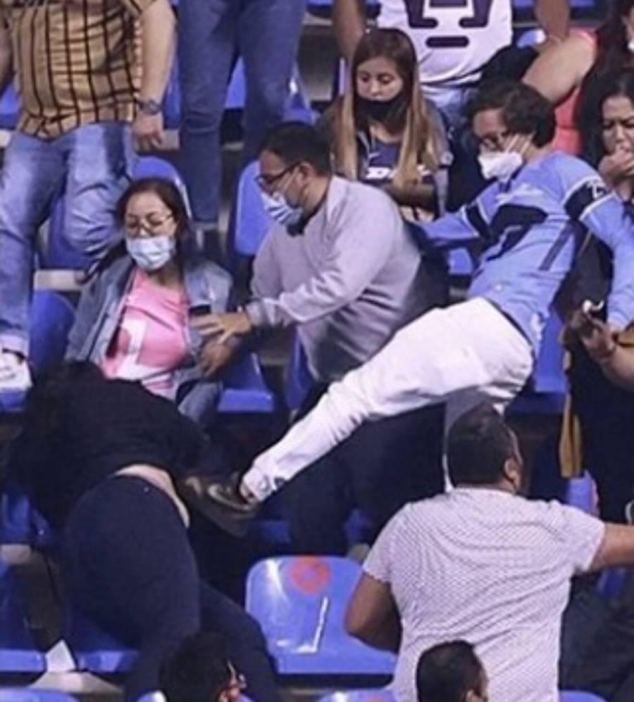 Miguel Barbosa pide a mujeres violentadas en Estadio Cuauhtémoc denunciar los hechos