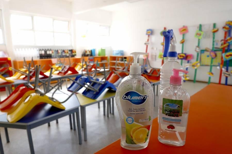 Escuelas particulares de Puebla preparan el regreso a clases presenciales