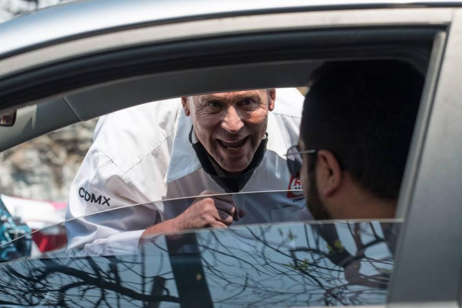 Antuñano apercibe a Alfredo Adame por insulto a automovilista