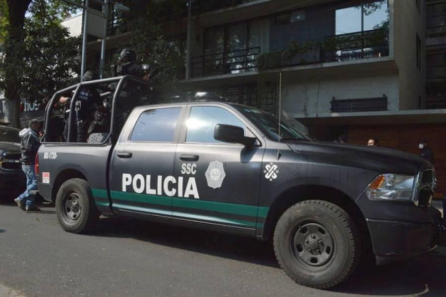 Detienen a cinco policías presuntamente vinculados a La Unión Tepito
