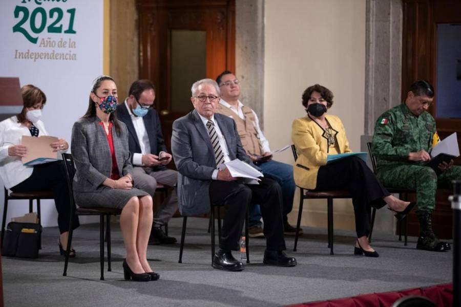 Contagios en CDMX a niveles de principios de Pandemia: Claudia Sheinbaum