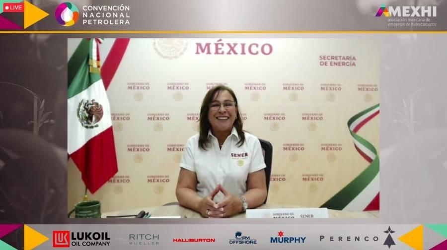 Revisará México con OPEP+ producción petrolera: Nahle