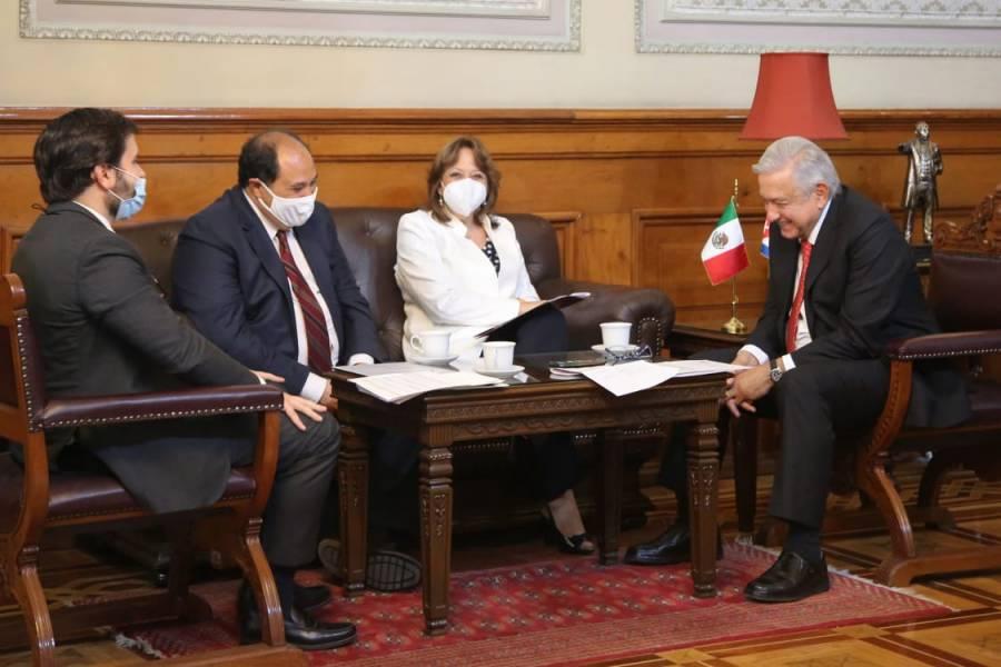 AMLO agradece a presidente de Cuba apoyo médico durante pandemia