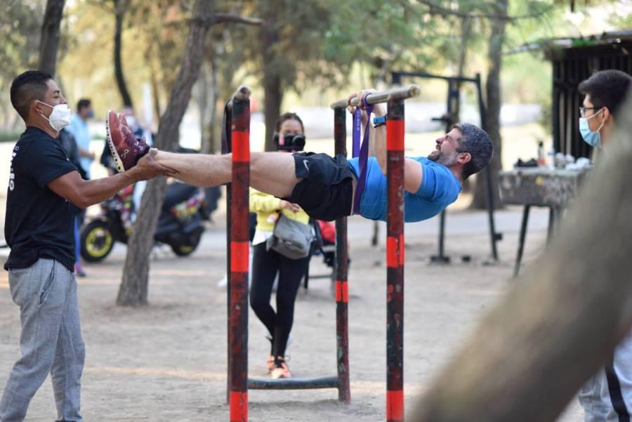 Mauricio Tabe promete impulsar el deporte para prevenir la delincuencia en Miguel Hidalgo