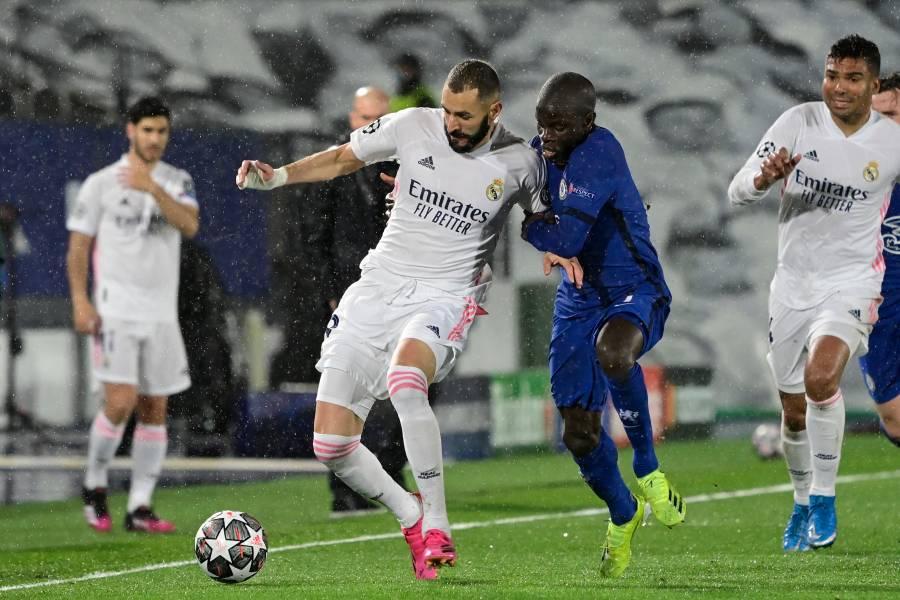 Benzema rescata al Real Madrid de un Chelsea superior
