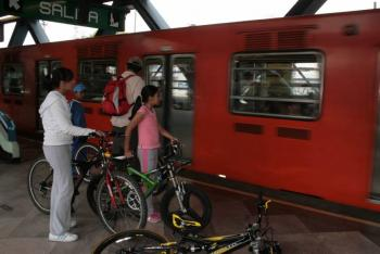 """Programa """"Tu bici viaje en Metro"""", inicia este sábado en la CDMX"""