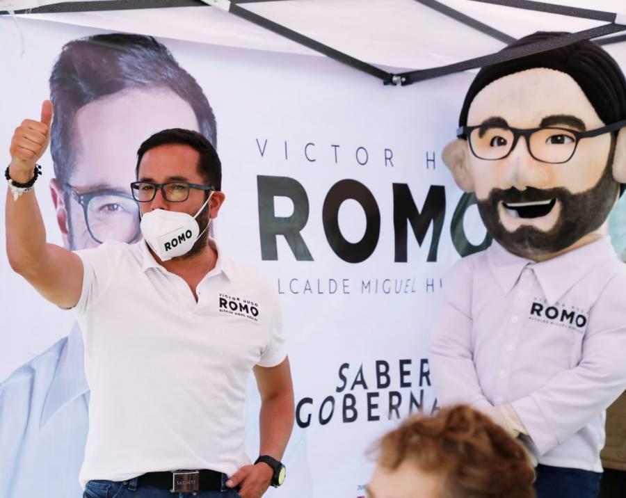 Compromete Víctor Hugo Romo combatir delitos en Miguel Hidalgo con 100 mil cámaras en celulares
