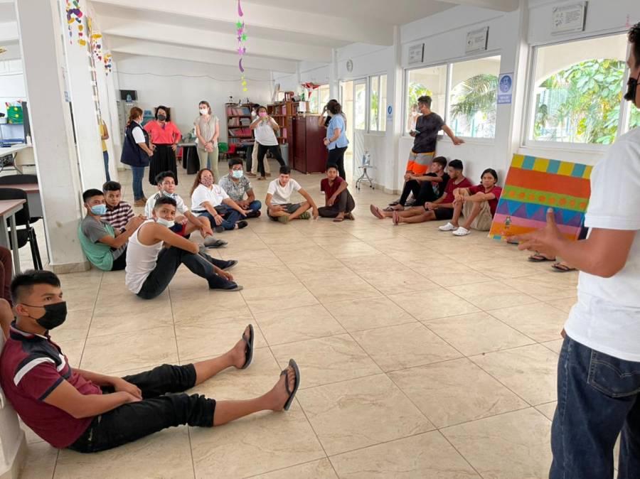 Capacita SNDIF a equipos multidisciplinarios para atender a menores y adolescentes migrantes