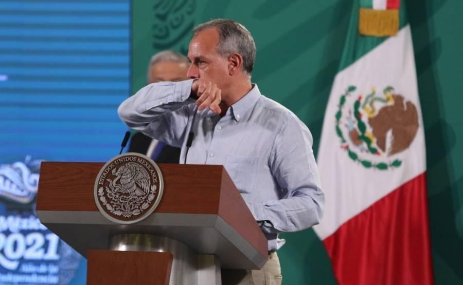 """""""No todo es COVID"""", dice López-Gatell al presentarse enfermo a Mañanera"""