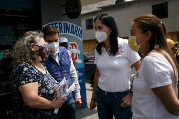 Habrá mejoras en el drenaje de Álvaro Obregón: Lía Limón