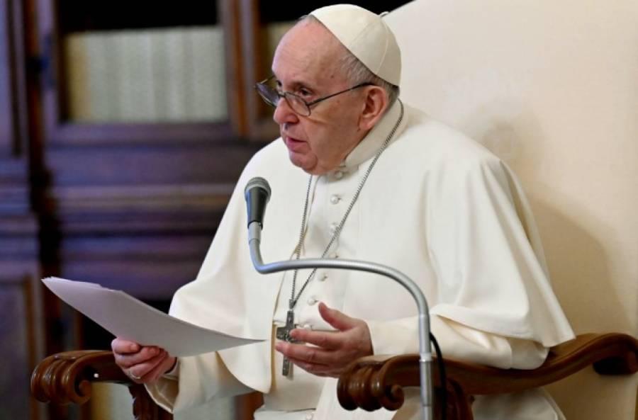 Se declara el Papa Francisco contrario a toda intervención extranjera en Venezuela