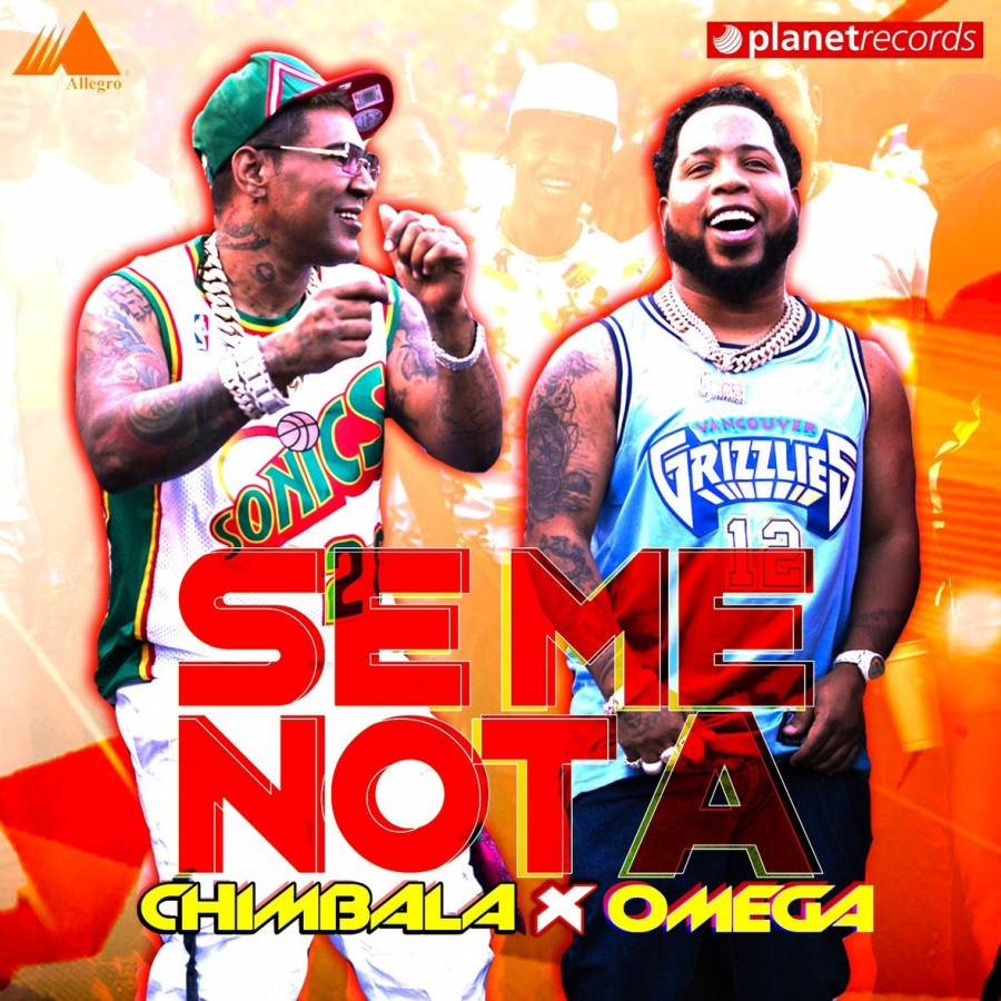 "Chimbala y Omega vuelven al merengue con ""Se me nota (agárrate)"""