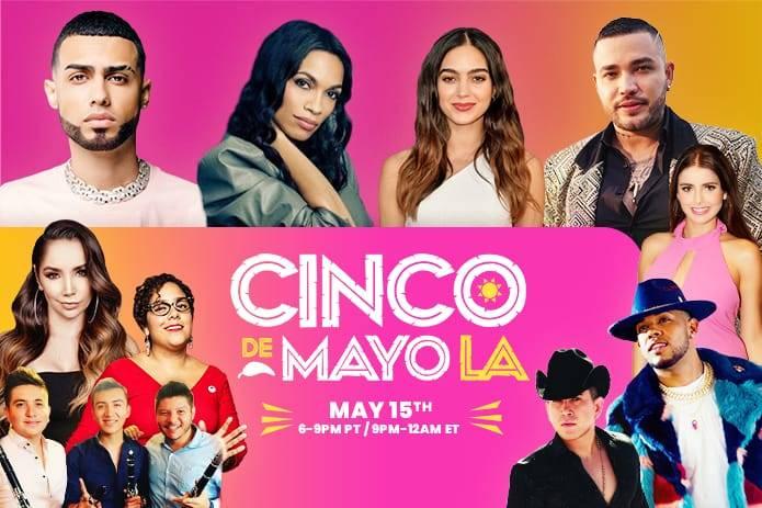 """La Original Banda El Limón y La Santa Cecilia encabezan el festival """"Cinco de mayo LA"""""""