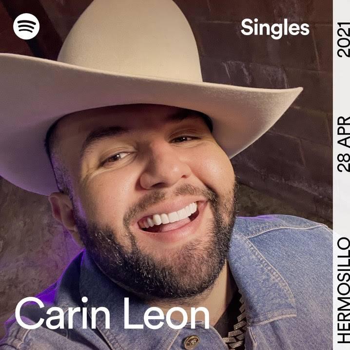 Carin León lanza para Spotify Singles dos canciones exclusivas