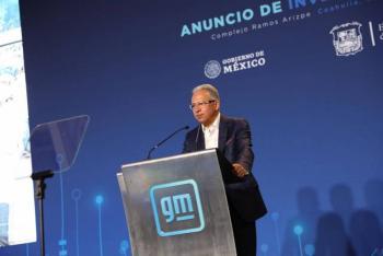 General Motors invertirá 1,000 mdd en México para producir vehículos eléctricos