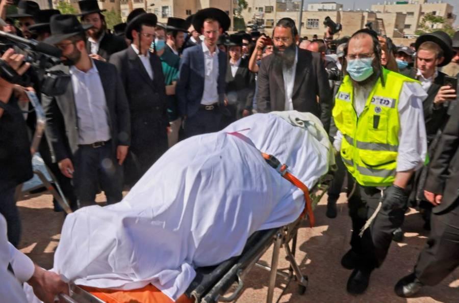 Estampida humana tras peregrinación judía en Israel deja al menos 44 muertos