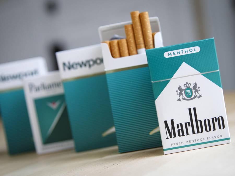 Buscan prohibir venta de cigarros mentolados en Estados Unidos
