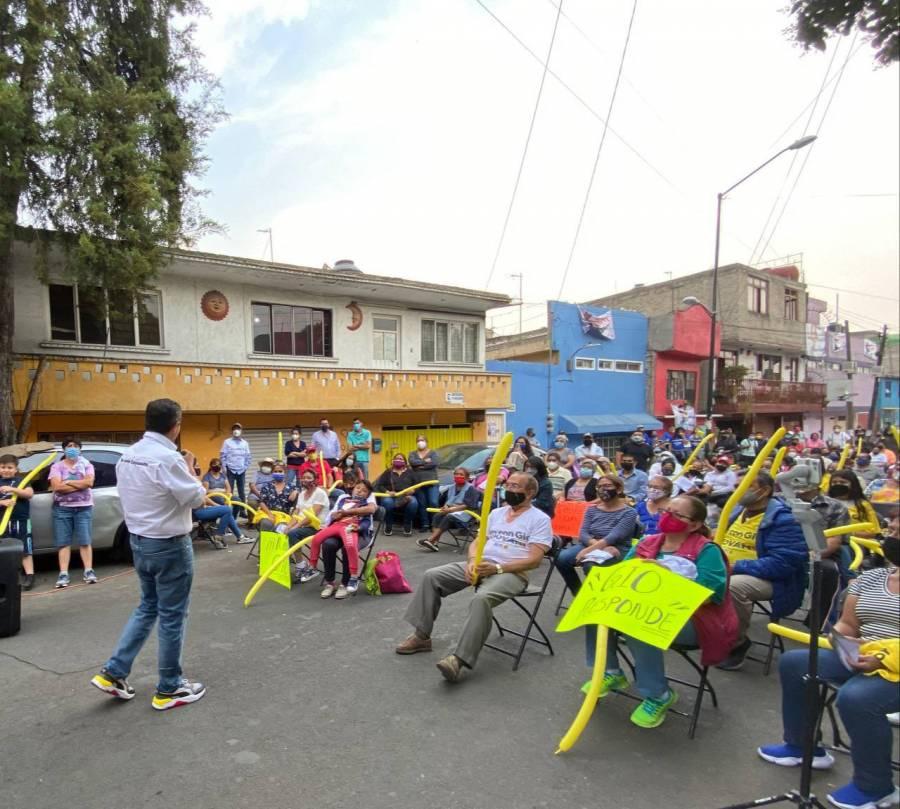 Giovani Gutiérrez promete que en Coyoacán niñas y niños estarán protegidos