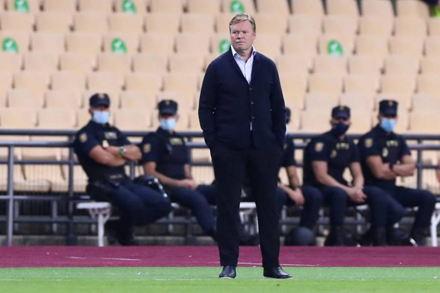 El Técnico Ronald Koeman fue sancionado con dos partidos