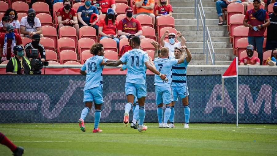 Alan Pulido marca su primer gol ante Salt Lake en MLS
