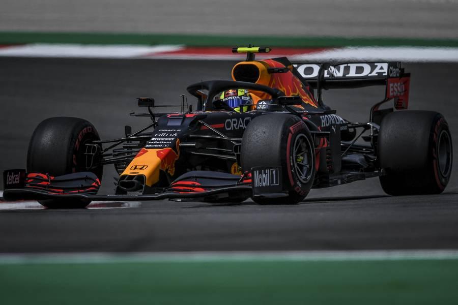 """""""Checo"""" Pérez saldrá cuarto en el GP de Portugal"""