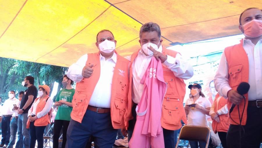 Declinan candidatos en Tlalpan a favor del proyecto de Movimiento Ciudadado