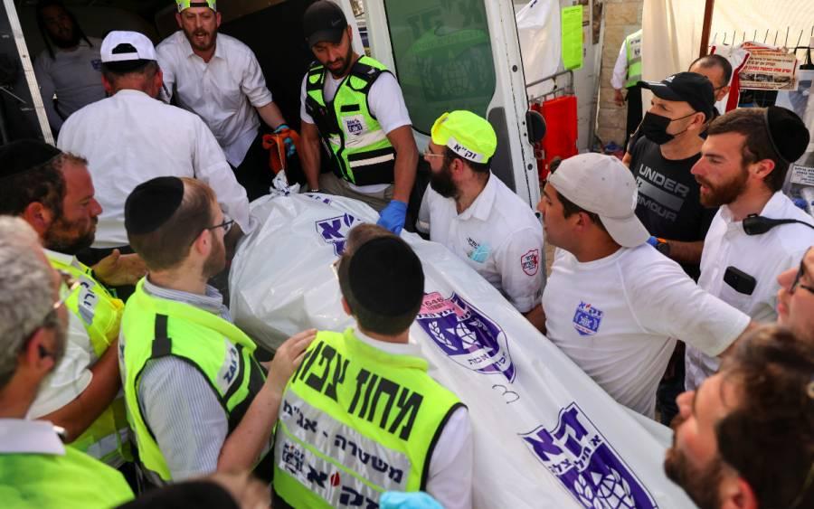 Sigue el duelo en Israel por muertos de avalancha humana
