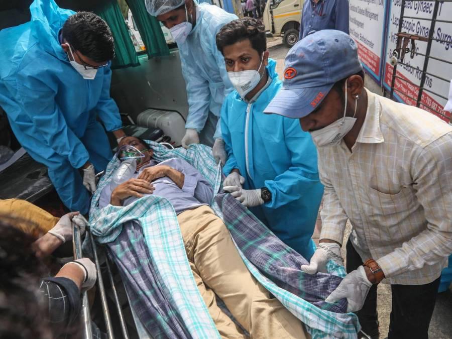 Ahora, enfermos de COVID-19 en la India mueren por falta de oxígeno