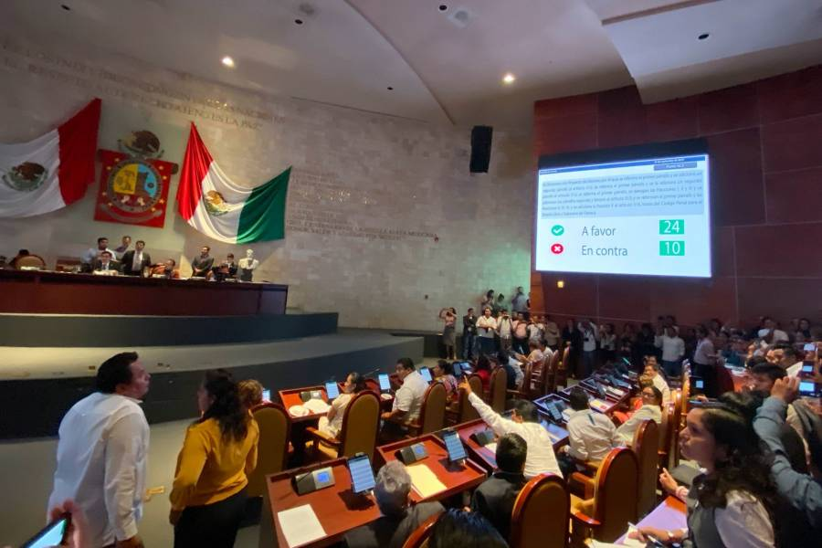 Ven violencia de género en designación de magistrados en Oaxaca