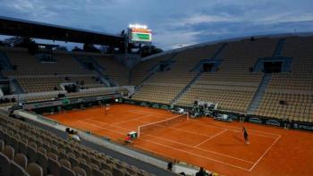 Confirma aforo limitado en Roland-Garros