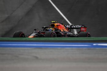"""Hamilton se corona en el GP de Portugal; """"Checo"""" termina cuarto"""