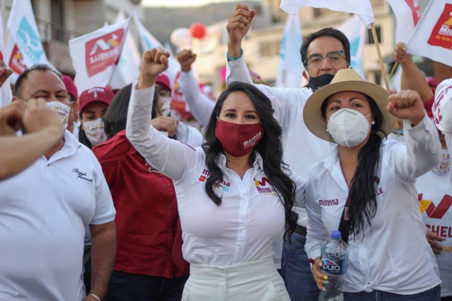 La morenista Michelle Núñez promete transformar Valle de Bravo