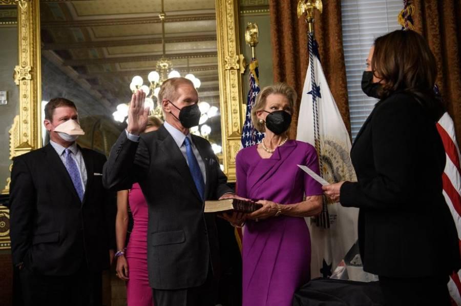 Bill Nelson, nuevo jefe de la NASA, anuncia