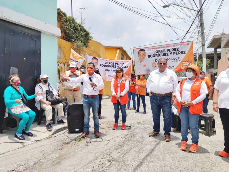 En Tlalpan urgen mayor seguridad: Jorge Pérez Rodríguez y Pérez
