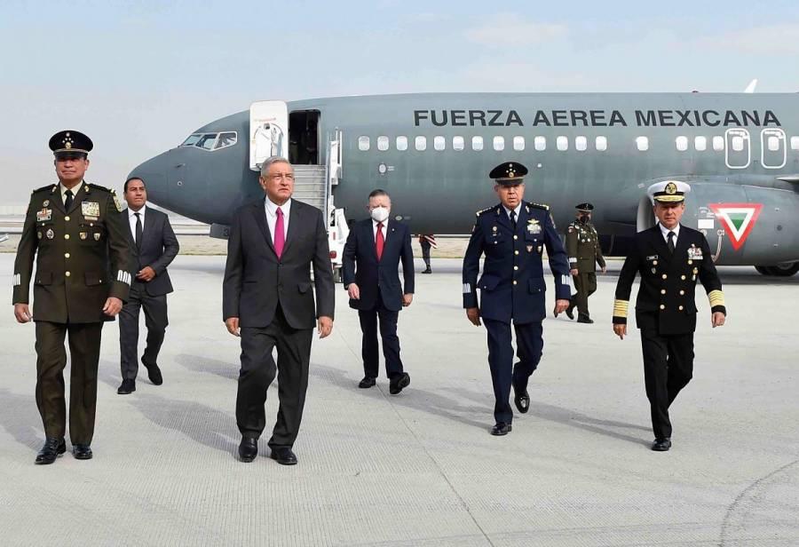 Sedena habría gastado 34 mil pesos en vuelo inaugural de AMLO en Santa Lucía