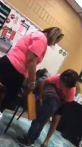 Video: directora de primaria propina tablazos a niña de 6 años