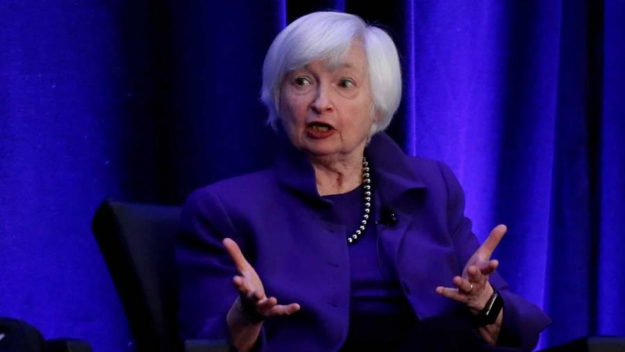 Estados Unidos sin temor a la inflación: Yellen